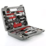 Deckey Bike Repair Tool Kits,48 pcs Bicycle Tool Kit Multi-Function Tool Kit, Maintenance Tool Set with Tool Box Best Value Professional Home Bike Tool with Premium Quality (Sports)