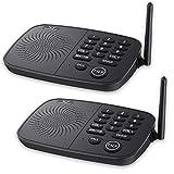 Hosmart Sistema di interfono wireless a 10 canali, portata fino a 800 metri, connessione protetta, per casa o ufficio