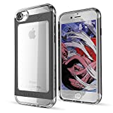 iPhone 7 8 Case, Ghostek Cloak 2 Series for Apple iPhone 8 Slim Protective Armor Case Cover | Tempered Glass Screen Protector | Aluminum Frame | TPU Shell | Durable | Warranty | Ultra Fit (Black)