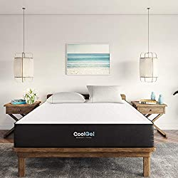 Classic Brands 10.5 Inch Cool Gel – Best For Light Sleepers