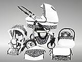 Chilly Kids Dino poussette combinée Set – été (parasol, siège auto &...