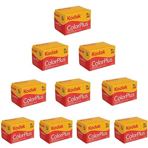 Kodak Color Plus 200 35mm 36枚撮 10本セット 並行輸入品