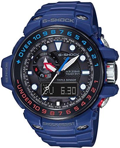 Casio Herren G-Shock Master Of G Gulfmaster Gwn-1000H-2Ajf, Schwarz