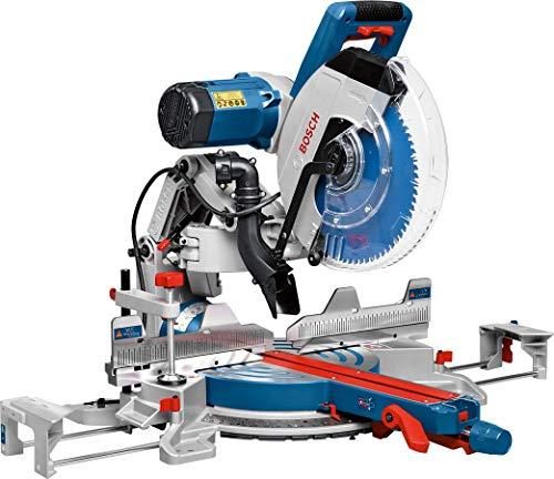 Bosch Professional Scie à Onglets Radiale GCM 12 GDL (Laser à Double Ligne, Lame de Scie Circulaire, Serre-joint, Diamètre de Lame : 305 mm, 2000 W, boite carton)