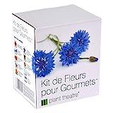 Kit de Fleurs pour Gourmets par Plant Theatre - 6 variétés de fleurs comestibles à cultiver -...