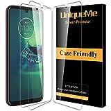 [3 Pack]UniqueMe Protector de Pantalla para Motorola Moto G8 Plus,[9H Dureza ] [Sin Burbujas]...