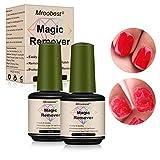 Nail Remover, Magic Gel, Magic Gel Remover, Quitaesmalte de uñas en gel profesional que elimina el aceite de gel infiltrante fácil y...