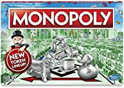 Buy, sell, dream and scheme your way to riches Players buy, sell and trade to win Build houses and hotels on your properties and bankrupt your opponents to win it all Chance and Community Chest cards can change everything Includes gameboard, 8 Tokens...