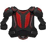 STX Ice Hockey HP SPH1 JR 03 BK/RD Stallion HPR 1.1 Junior Shoulder Pad, Large, Black/Red
