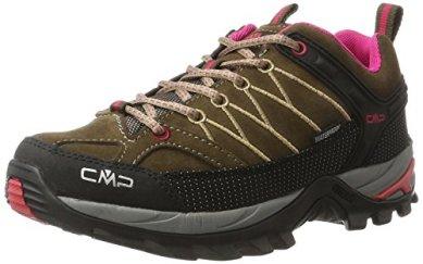 CMP-Damen-Rigel-Low-WP-Trekking-Wanderhalbschuhe-Braun-Wood-Magenta-40-EU