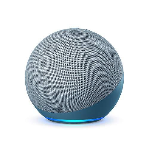Echo (4e génération), Avec son premium, hub connecté et Alexa, Bleu-gris