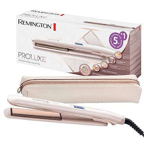 Remington Fer à lisser, Lisseur, Glide Céramique, Glisse Facile, Température Constante et Ciblée - S9100 Proluxe