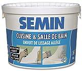 Semin A04736 Enduit de Lissage Cuisine et Salle de Bain, Adapté aux...