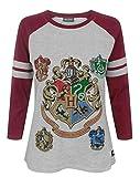 Hogwarts Harry Potter Women's Raglan Top (S)