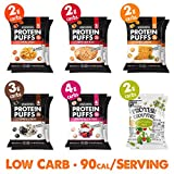 Shrewd Food Low Carb Keto Protein Puffs Variety 12...