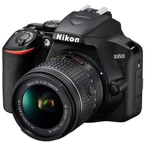 Nikon D3500 24.2MP DSLR Camera with AF-P DX NIKKOR 18-55mm...