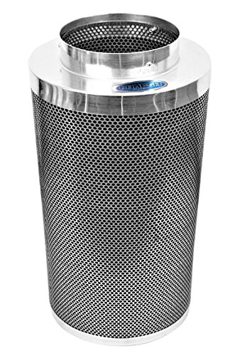 Phresh HGC701015 Carbon Filter For The Cleanest Air Around 8' x 24' - 750 CFM Silver