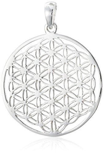 Vinani Pendentif - Fleur de Vie petit - Mandala - Argent 925 - ALB-EZ