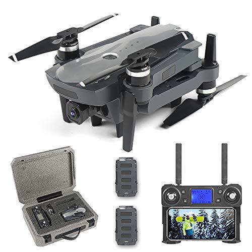 BaiTTang Drone Professionale GPS con Fotocamera UHD 4K, Resistenza al Vento a 7 Livelli, 5G WiFi FPV Video Live Video UAV con Motore brushless, Ideale per Viaggi all'aperto