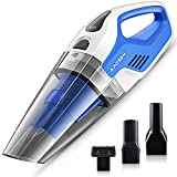 APOSEN Handheld Vacuum Cleaner with HEPA Filter 7Kpa Wet Dry Hand Vac 14.8V Lithium with Quick Charge Tech Powerful Cyclonic Suction A7-B