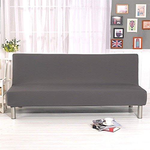 Jian ya na Pieghevole Divano Letto futon di Colore Solido Senza braccioli Fodera in Poliestere...