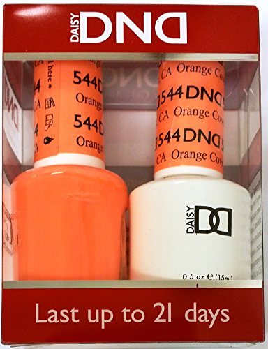 DND (Gel & Matching Polish) Set (544 - Orange Cove)