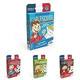 LA DUCALE - Lot de 4 Jeux Cartatoto - Addition, Multiplication, Conjugaison, Anglais - Eco...