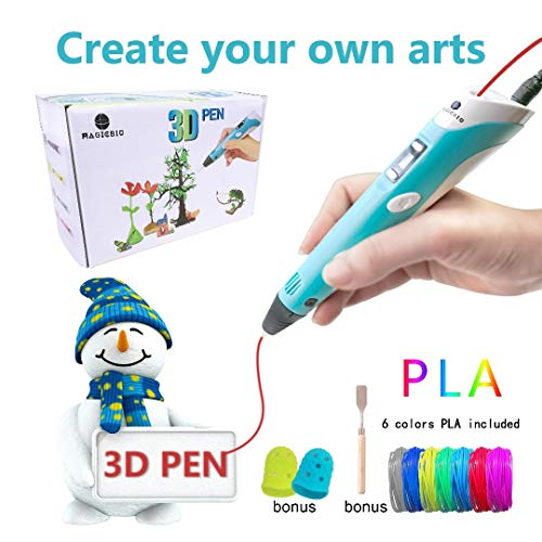 MagicBiu 3D Pen with PLA Filament...