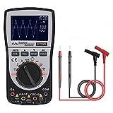 Multimètre oscilloscope portable,2 en 1 oscilloscope multimetre intelligent...