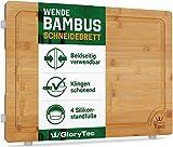 Glorytec Tabla de Cortar Cocina/trinchar Tabla de bambú –...
