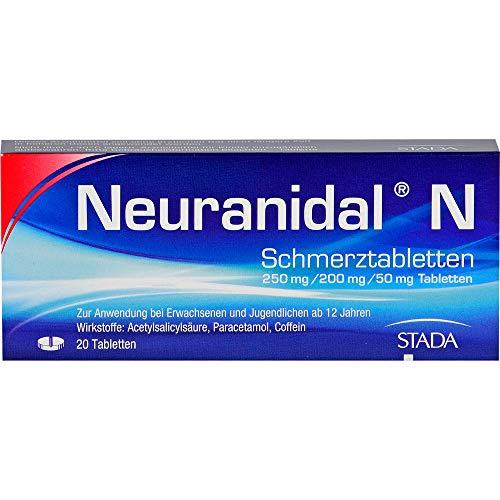 Neuranidal N Schmerztabletten, 20 St. Tabletten