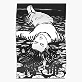 Générique Horror Manga Junji Punk Gore Pastel Goth Guro Ito Affiche d'impression d'art...