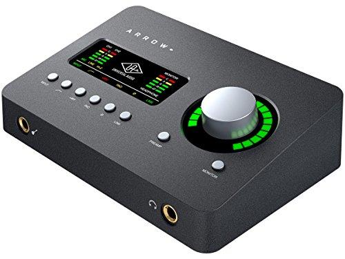 Universal Audio ARROW アナログ2イン/4アウト Thunderbolt 3 バスパワー駆動 レコーディング向けオーディ...