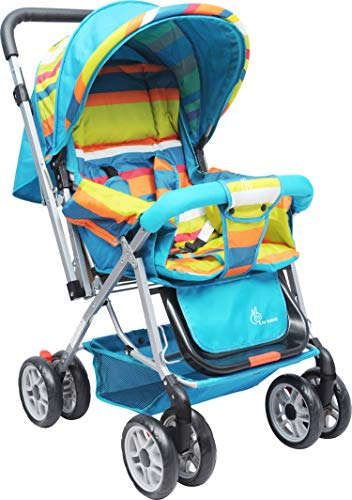 R for Rabbit Lollipop Lite Colorful Baby Stroller and Pram for Baby|Kids|Infants|New Born|Boys|Girls of 0 to 3 Years(Multicolor)