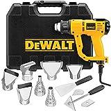 DEWALT Heat Gun with LCD Display & Hard Case/Accessory Kit (D26960K),Yellow