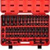 """Neiko 02448A 1/2"""" Drive Master Impact Socket Set, 65 Piece Deep & Shallow Socket Assortment 