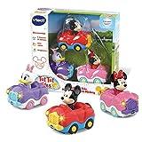 VTech – Tut Tut Bolides - Coffret Trio Disney : Minnie, Daisy et Mickey Inclus...