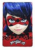 Theonoi Ladybug Couverture plaid de qualité supérieure pour enfant Couverture...