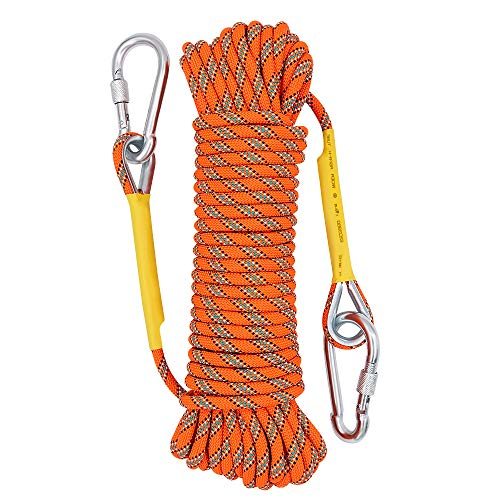 X XBEN Outdoor Climbing Rope 10M(32ft) 20M(64ft) 30M (96ft)...