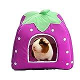 Abri et panier pour petit animal de compagnie - Lapin, cochon d'Inde,...