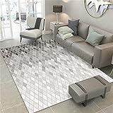 alfombras para dormitorios gris Alfombra de sala de estar alfombra gris densa...
