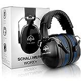SCHALLWERK Work+ protection auditive de travail – taille des casque anti...