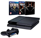 Contenu : Console PS4 500 Go Noire + The Order 1886 Call of Duty : Black Ops III + Steelbook exclusif Amazon