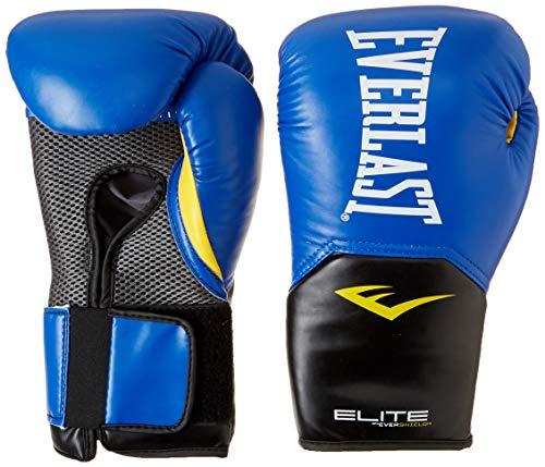 Everlast Elite Pro Style Training Gloves, Blue, 8 oz