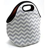 ALLENLIFE Waterproof cute small neoprene lunch bag Insulated handbags Lunch Box Cooler Bag for school children teen girls women