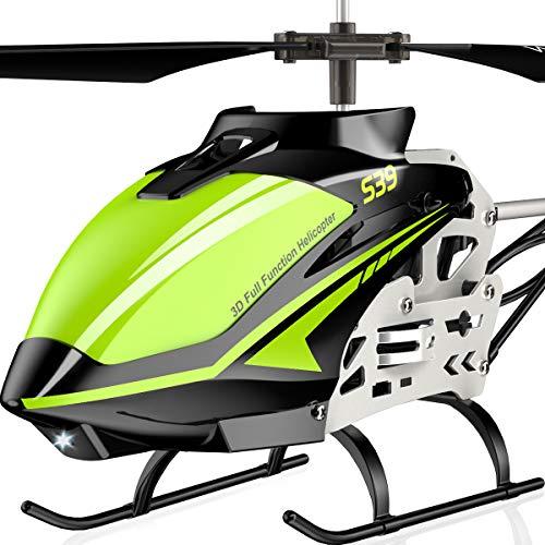 SYMA Elicottero telecomandato RC elicottero elicottero indoor outdoor aereo regalo bambini S39 3,5 canali 2.4 GHz LED luce giroscopio rosso