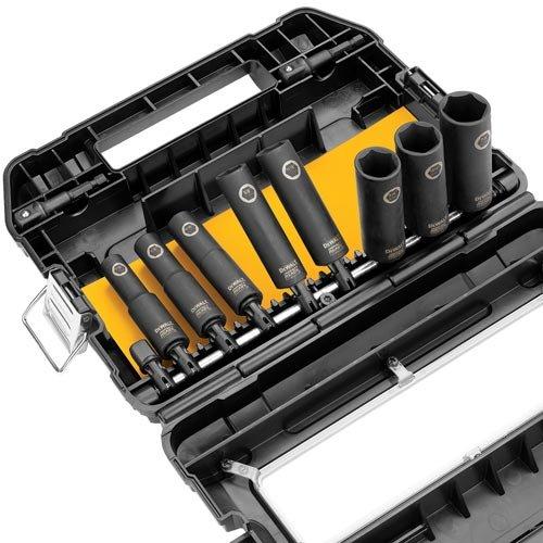 DEWALT Impact Socket Set, SAE, 3/8-Inch, 10-Piece (DW22838)