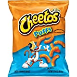 Cheetos Puffs Cheese Flavored Snacks, 1.375 Ounce (Pack of 64)