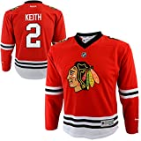 Reebok Duncan Keith Chicago Blackhawks #2 Red NHL Infants 12-24M Home Jersey