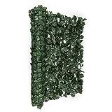blumfeldt Fency Dark Ivy - Clôture Brise-Vue en Imitation Lierre de...